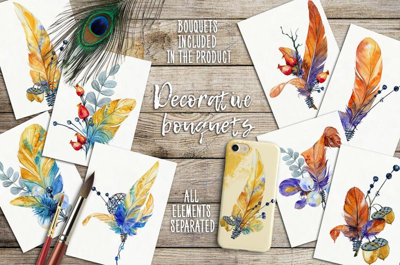 decorative-feathers