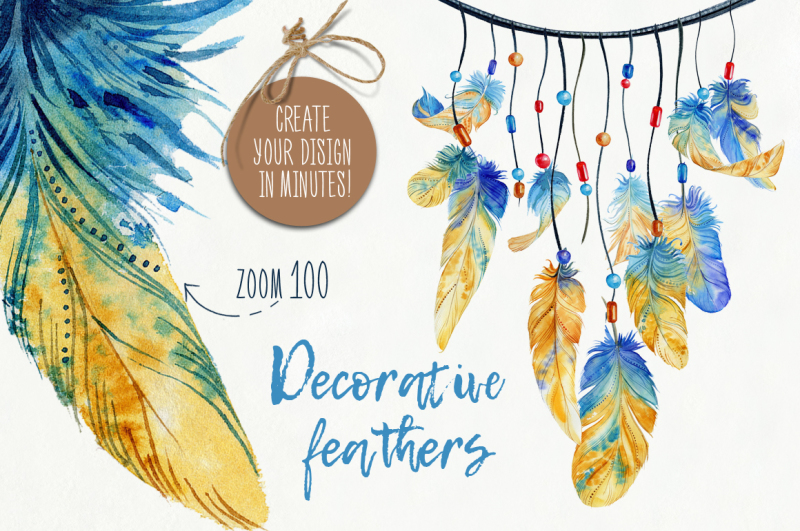 decorative-feathers