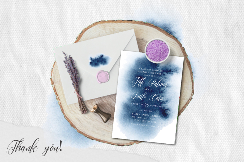 indigo-watercolor-wedding-invitation-suite