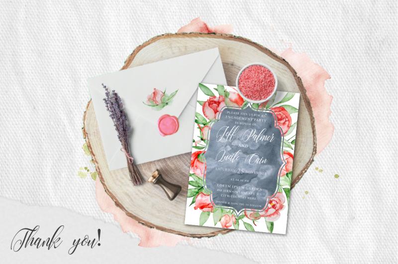 floral-watercolor-wedding-invitation-suite
