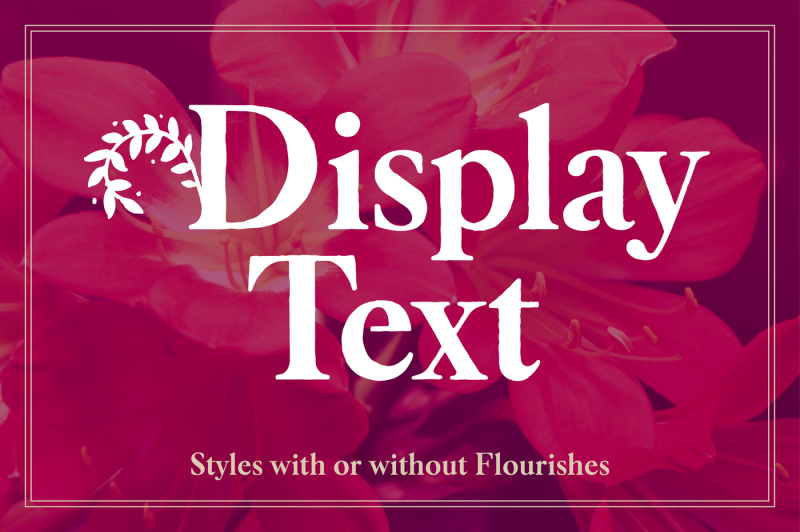 botany-font-family