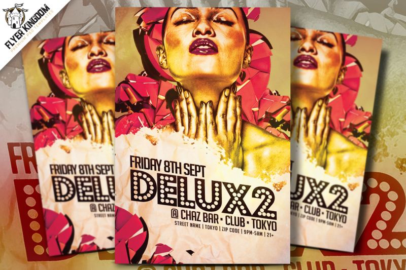 delux2-party-flyer-template