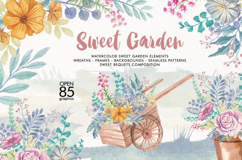 watercolor-sweet-gaerden