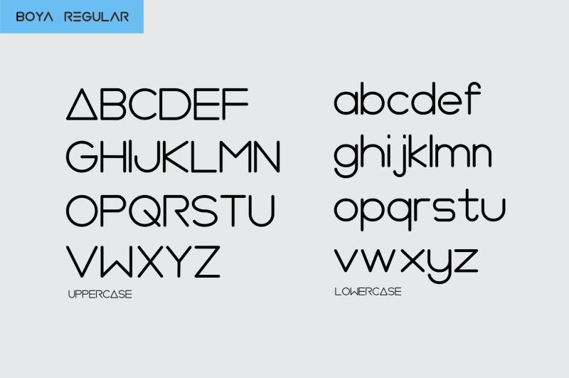 boya-rounded-font