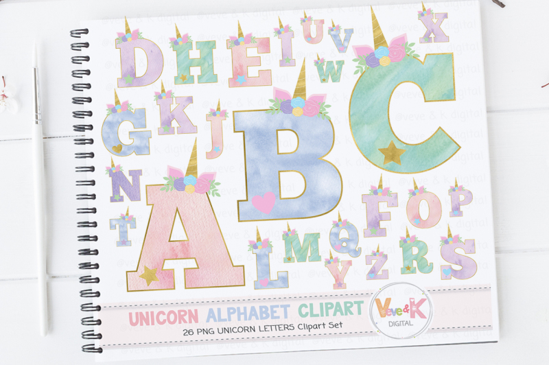 unicorn-letters-clipart-set-unicorn-clipart