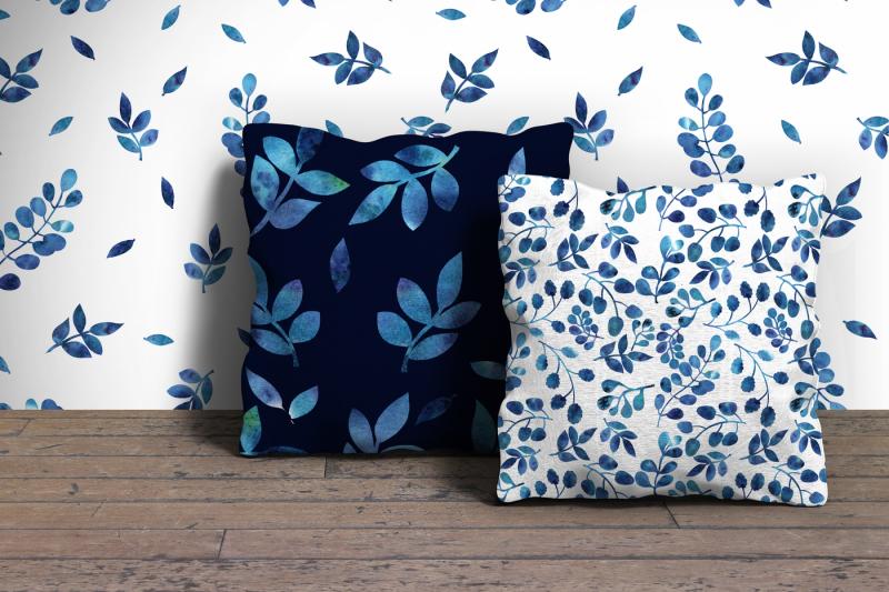 blue-leaves
