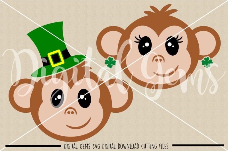 monkey-face-svg-dxf-eps-png-files