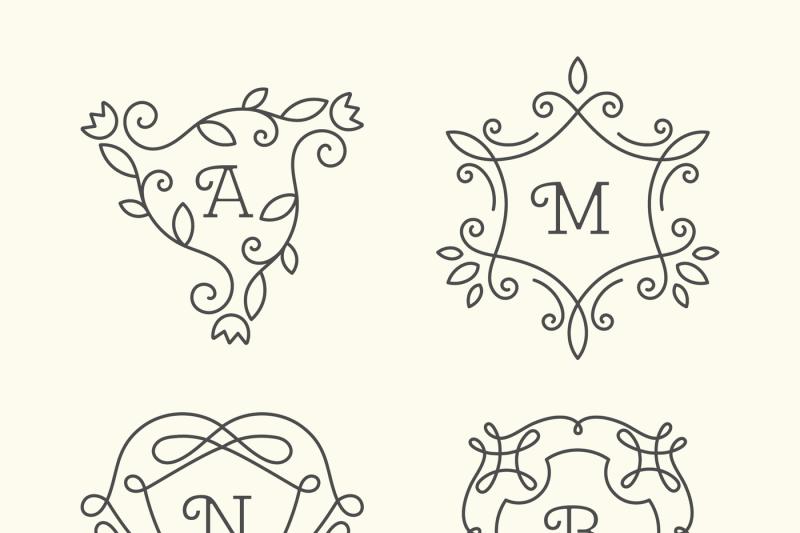 monograms-set