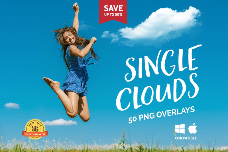 50-single-clouds-photo-overlays