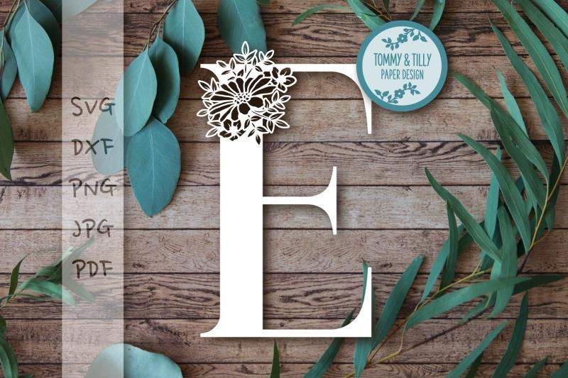 e-floral-letter-svg-dxf-png-pdf-jpg
