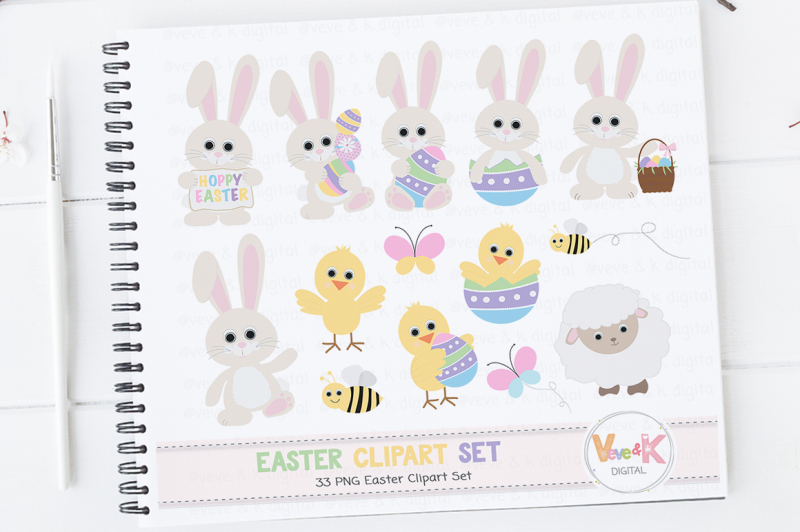easter-bunny-clipart-set-easter-graphics