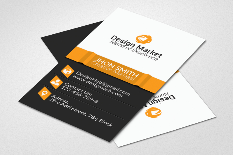 vertical-business-cards-templates