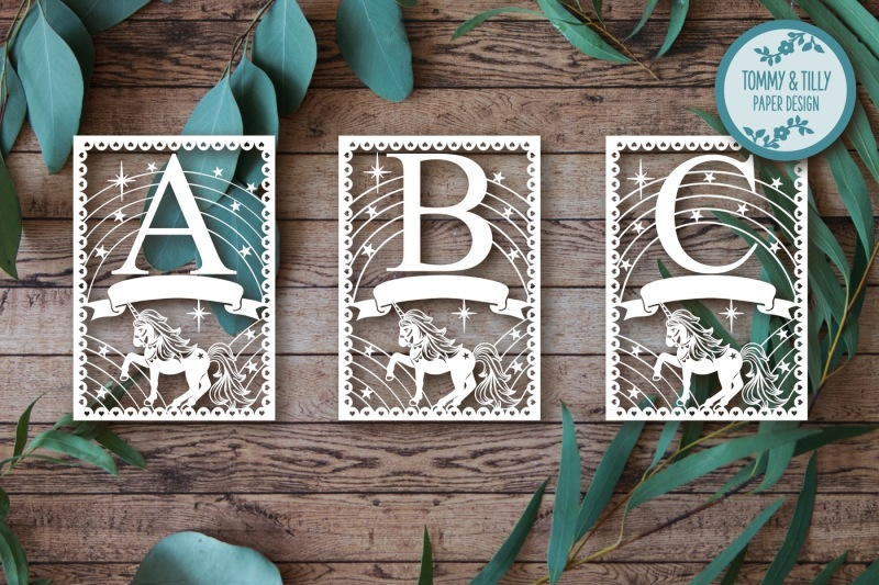 unicorn-alphabet-bundle-26-letters-cutting-files-svg-dxf-png-pdf-jpg
