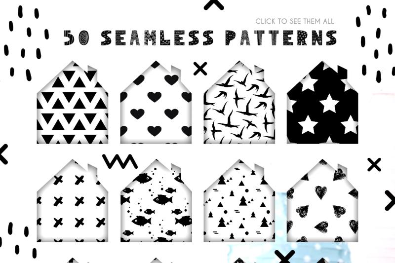 50-scandinavian-seamless-patterns