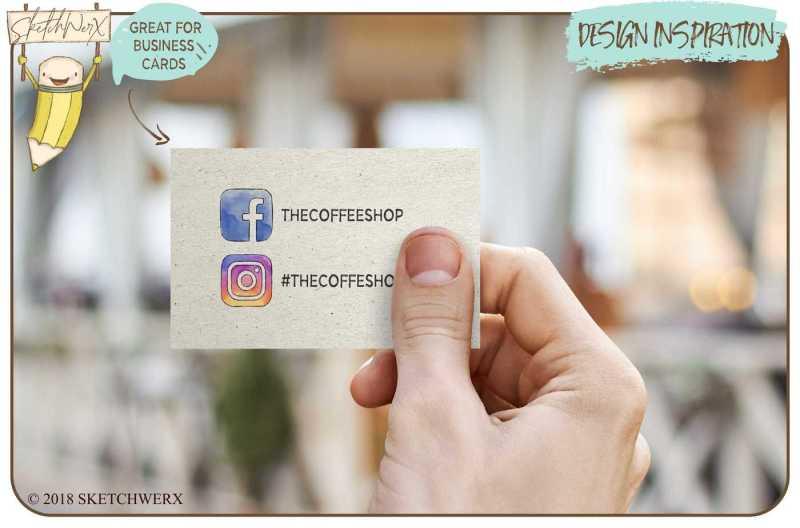6-watercolour-social-media-icons