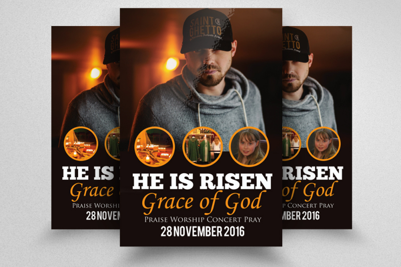 man-of-god-church-flyer-templates