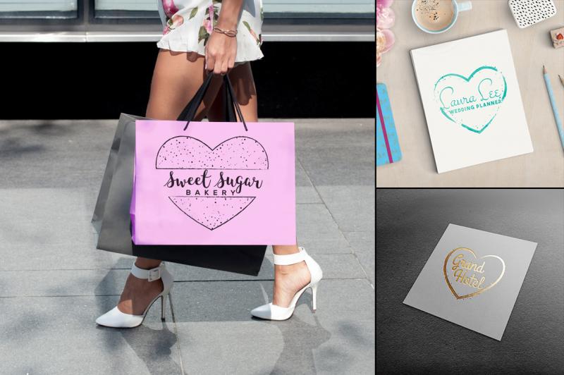 feminine-logo-creator-kit-hearts