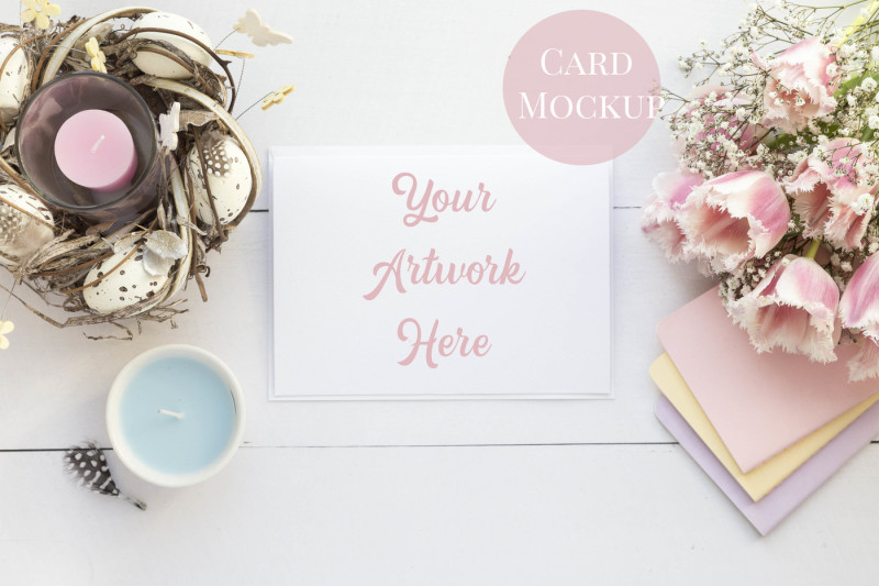 Free Card Mockup - 5