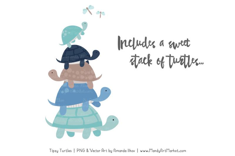 sweet-stacks-tipsy-turtles-stack-clipart-in-oceana