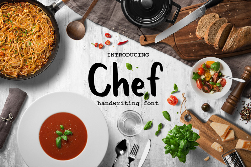 chef-handwritten-brush-font