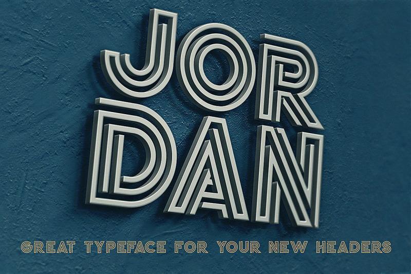 jordan-display-font