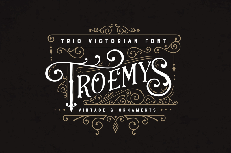 troemys-font-trio-and-extras