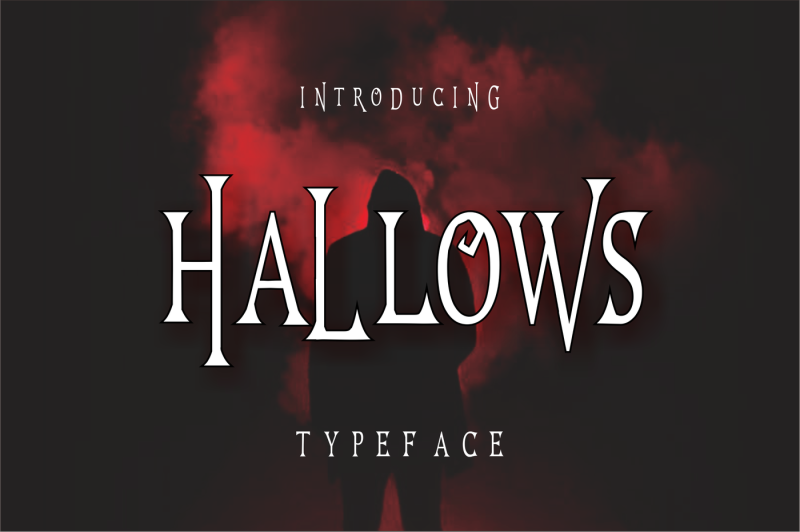 hallows-typeface