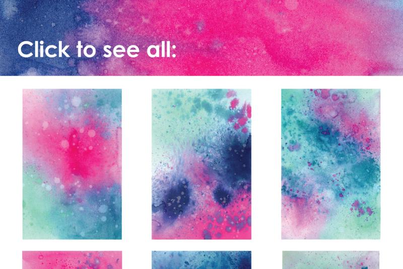 unicorn-watercolor-splatter-textures