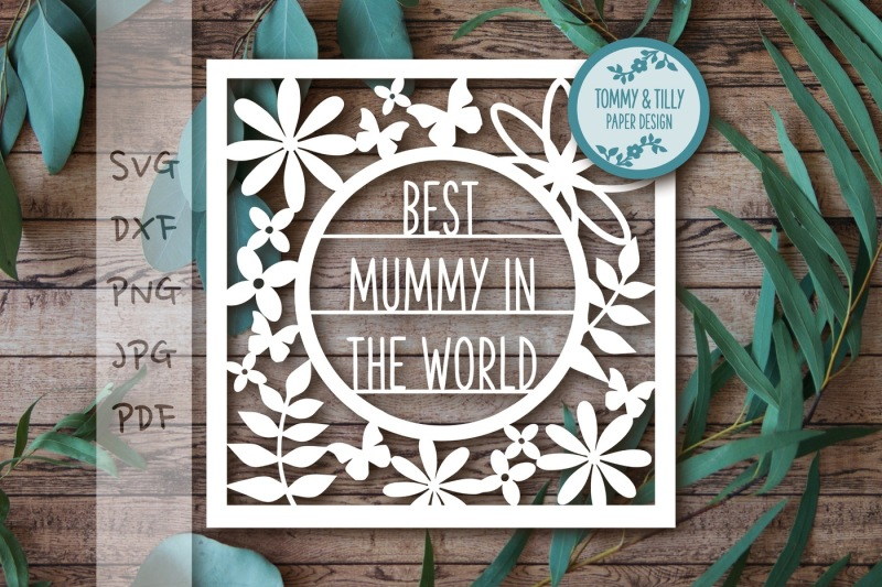 best-mummy-frame-svg-dxf-pdf-png-jpg