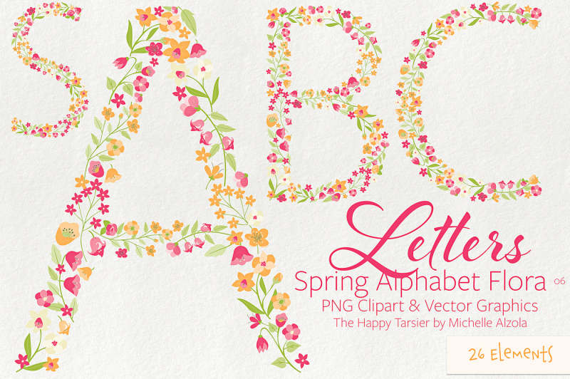 letters-flora-bundle-clipart-and-vector-graphics