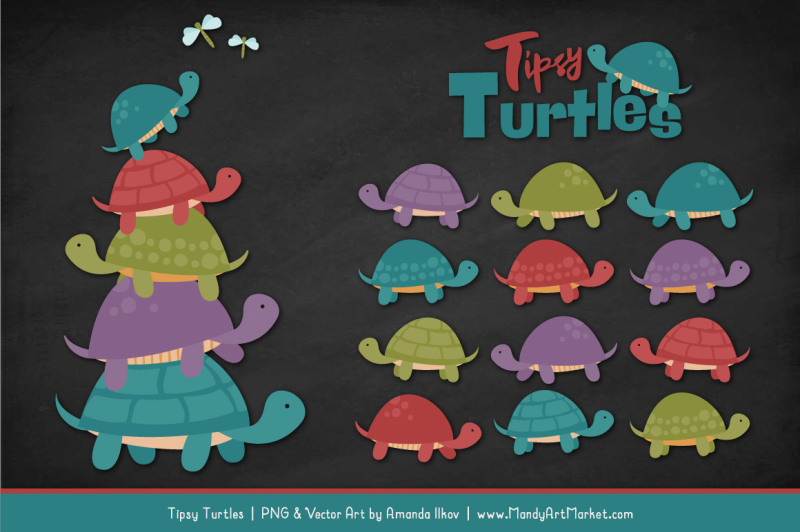 sweet-stacks-tipsy-turtles-stack-clipart-in-retro-bold