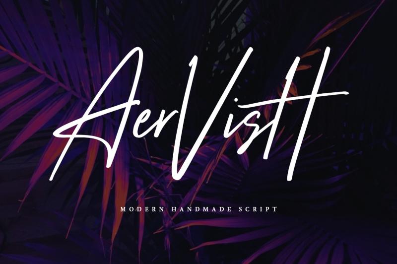 aervish-typeface