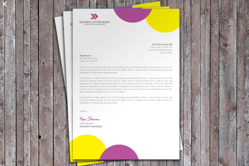 letter-head-template