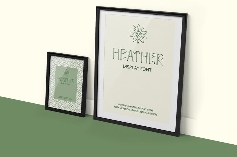 heather-uppercase-font