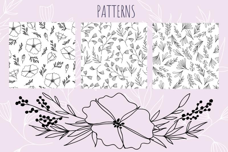 set-of-vector-floral-elements-spring