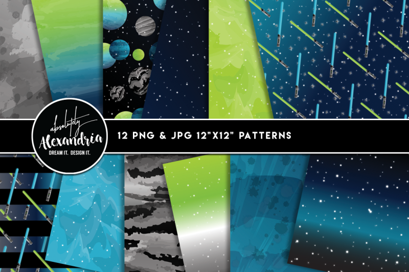 space-wars-graphics-and-patterns-bundle