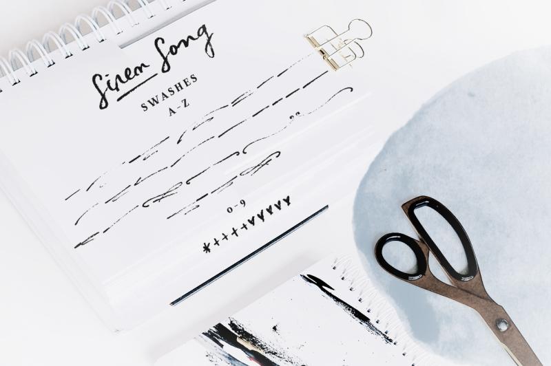 siren-song-a-handwritten-font