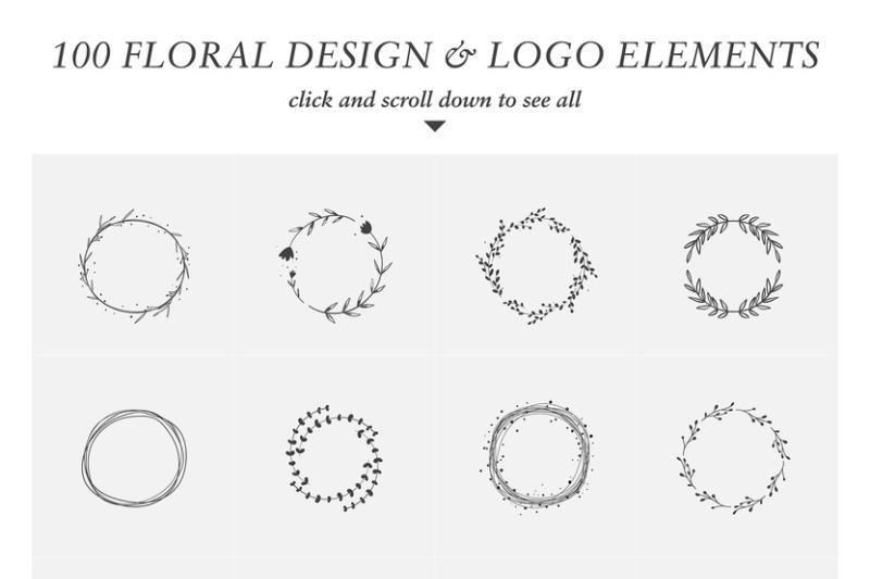 floral-design-and-logo-elements