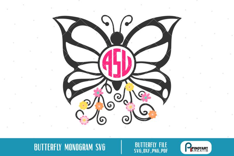 butterfly-monogram-svg-butterfly-svg-butterfly-svg-file-butterfly-dxf