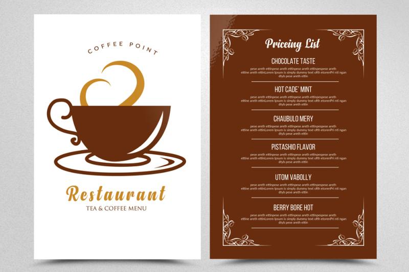 cafe-tea-menu-templates