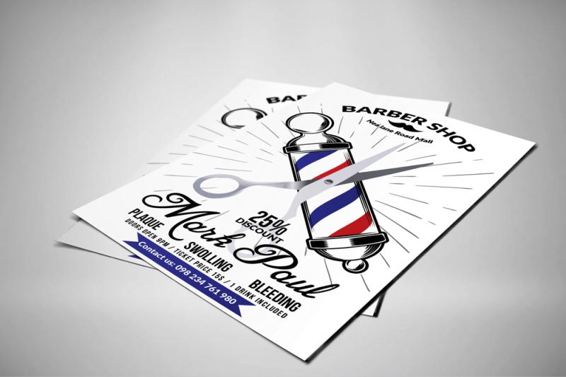 barber-shop-psd-flyer-templates