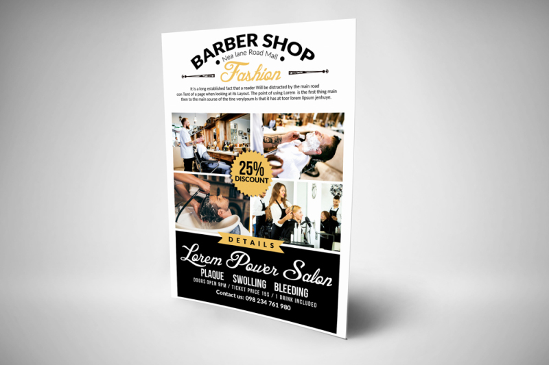 clean-barber-shop-flyer-templates