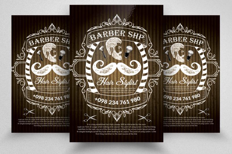 barber-shop-flyer-templates