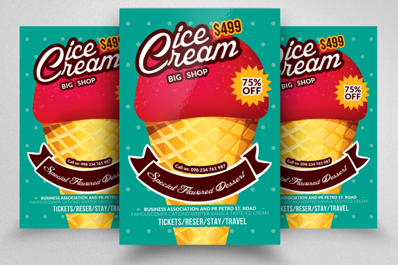 ice-cream-sale-flyer-templates