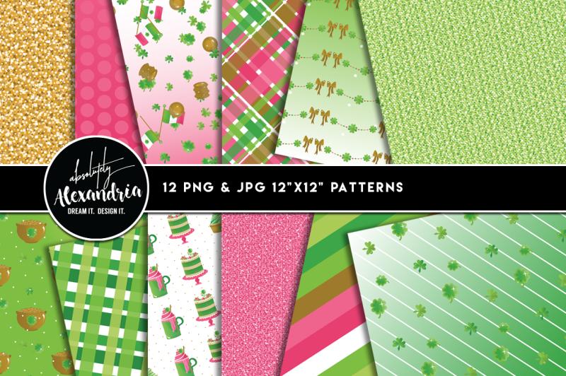 shamrock-sparkle-graphics-and-patterns-bundle