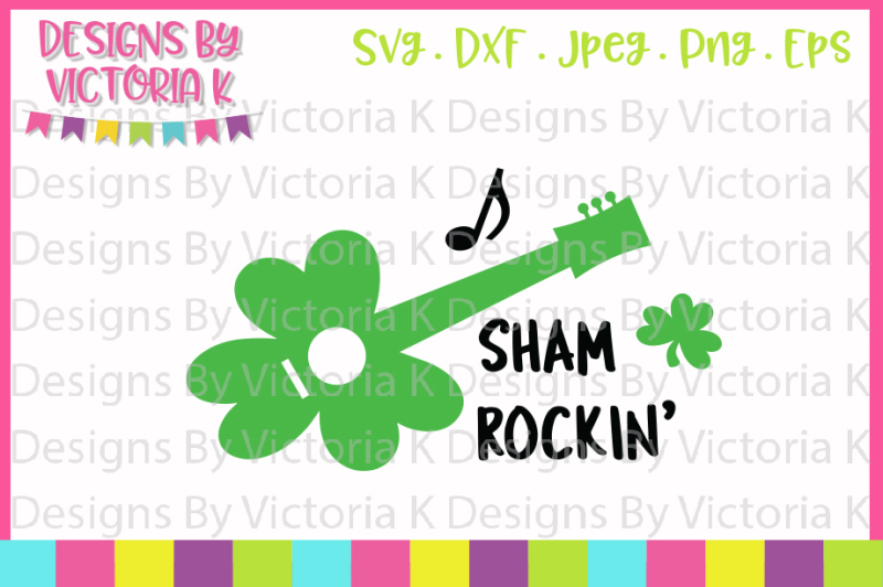 st-patrick-s-day-svg-shamrockin-svg-dxf-cut-file