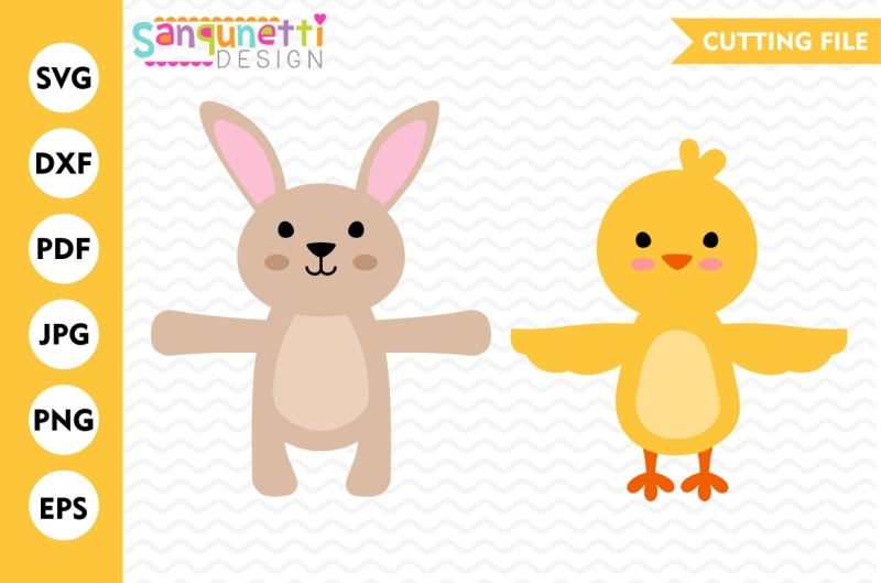 bunny-and-chick-svg-candy-huggers-spring-svg-easter-svg