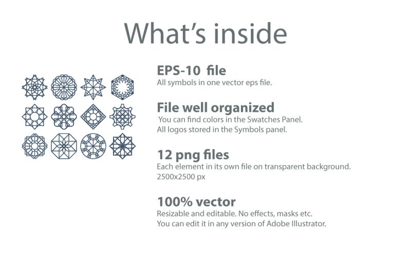 12-geometric-logo-templates