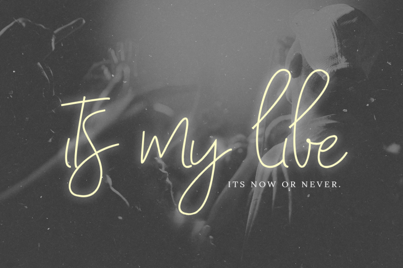 with-my-love-script-font