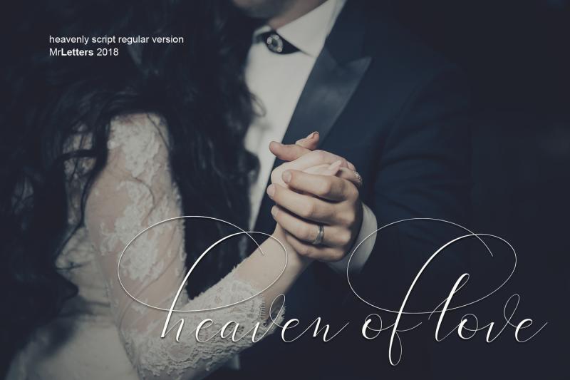 heavenly-script